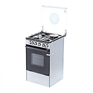Scanfrost Cooker 3Gas 1Electric (Silver)