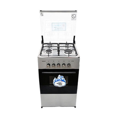 Scanfrost Gas Cooker 4 Burners Grey CK5