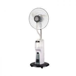 "Scanfrost Mist Rechargeable 16"" Fan with Remote SFRF161K"