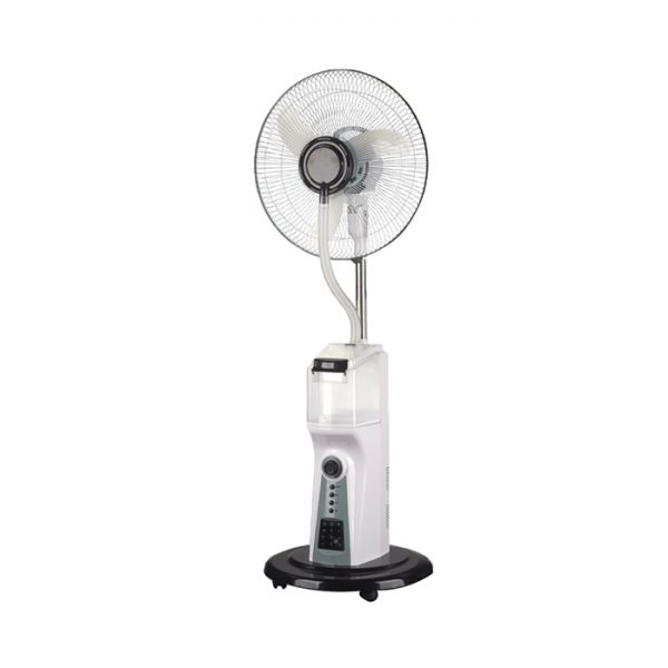 Scanfrost Mist Rechargeable 16'' Fan with Remote SFRF161K