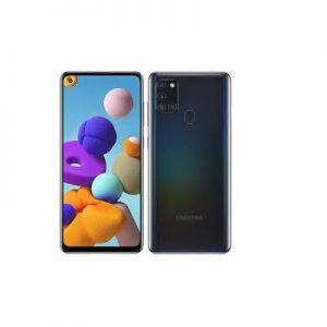 Samsung Galaxy A21s, 6.5-Inch 4GB RAM, 64GB ROM Android 10, (48MP + 8MP + 2MP + 2MP) + 13MP  – Black