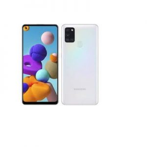 Samsung Galaxy A21s, 6.5-Inch 4GB RAM, 64GB ROM Android 10, (48MP + 8MP + 2MP + 2MP) + 13MP  – white