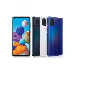 Samsung Galaxy A21s, 6.5-Inch 4GB RAM, 64GB ROM Android 10, (48MP + 8MP + 2MP + 2MP) + 13MP  – Blue