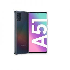 """Samsung Galaxy A51 (4GB 128GB) Dual Sim, 4000mAh, Android 10.0, 6.5""""- Prism Crush Black"""