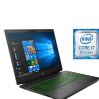 HP Gaming Pavilion 15 DK0403NIA Intel Core i7 Laptop 15.6 Inch 16 GB RAM 1 TB Hard Drive