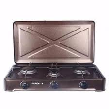 Maxi Table Top Gas Cooker – 3 Burner