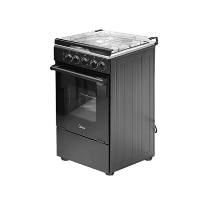 Midea Cooker 4 Burner Gas with Oven and Grill (20BMG4G007-B)