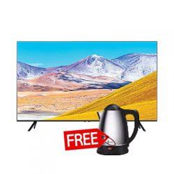 Samsung 50″ Smart TV (50TU8000) PLUS FREE ELECTRIC KETTLE